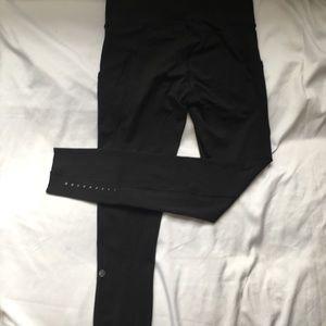 Worn only several times. Black long lulu leggings.